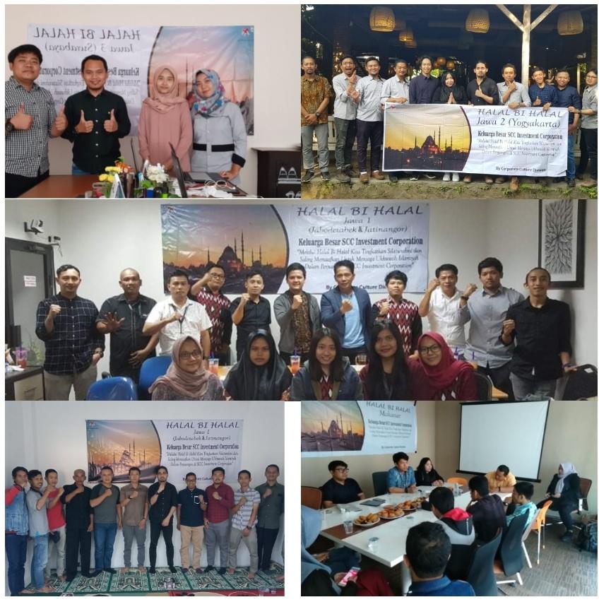 Rekatkan Emosional, Keluarga Besar SCC Gelar Halal Bihalal 2019 di Berbagai Wilayah Kerja