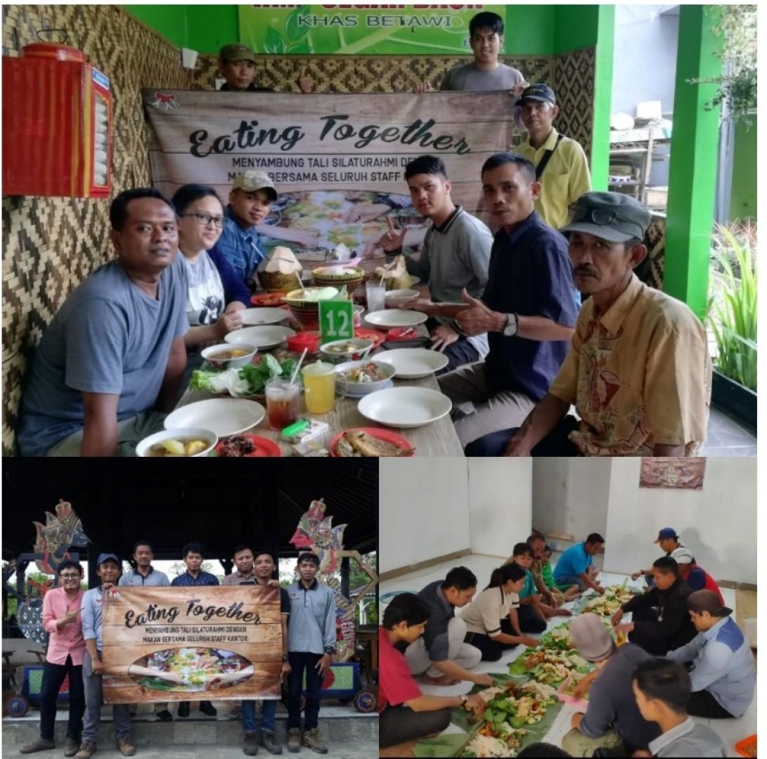 """Jaga Kebersamaan di Silaturahmi  """"Eating Together SCC"""""""